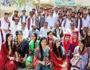 جامشورو: مہران یونیورسٹی کے سال آخر کے طلبہ کا الوداعی تقریب کے موقع ..