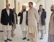 ایبٹ آباد: وزیر خیبر پختونخوا کے مشیر اطلاعات و اعلیٰ تعلیم مشتاق احمد ..