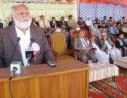 بنوں: وفاقی وزیر ہاؤسنگ اینڈ ورکس اکرم خان درانی درانی کالج میں منعقدہ ..