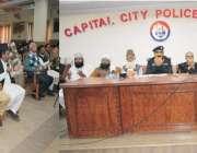 لاہور: سی سی پی او لاہور کیپٹن (ر) محمد امین وینس کی زیر صدارت امن و امان ..