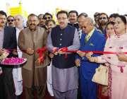اسلام آباد: وزیر محنت و افرادی قوت پنجاب راجہ اشفاق سرور اسلام آباد ..
