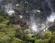 اسلام آباد: حویلیاں کے قریب حادثے کا شکار ہونیوالے پی آئی اے کے طیارے ..