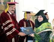 پشاور: اسلامیہ یونیورسٹی میں صوبائی وزیر اطلاعات مشتاق احمدغنی پوزیشن ..