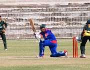 حیدر آباد: پاکستان واپڈا اور نیشنل بینک کی کرکٹ ٹیموں کے درمیان کھیلے ..