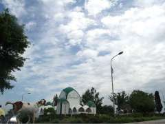 ISLAMABAD: An attractive view of Clouds hovering over the skies of the federal capital after rain.