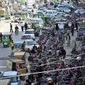 راولپنڈی: شہر میں غیرقانونی موٹرسائیکل سٹینڈ کی وجہ سے ٹریفک کی راونی ..