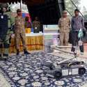 کوئٹہ: یوم پاکستان میلہ میں شہری دفاع کے اسٹال پر جدید مشینری ر کھی ..