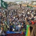 مردان: امیر جماعت اسلامی پاکستان سراج الحق ریلوے گراؤنڈ میں شمولیتی ..