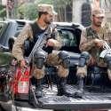 لاہور: پاک فوج کے جوان حلقہ این اے120کے ضمنی انتخابات میں امن و امان برقرار رکھنے کے لیے حلقے میں گشت کر رہے ہیں۔