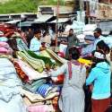 حیدر آباد: شہری گرم کپڑے خریدنے میں مصروف ہیں۔