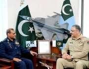 اسلام آباد: چیئرمین جائنٹ چیفس آف سٹاف کمیٹی ائیر ہیڈ کوارٹرز کے دورہ ..