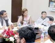 لاہور: صوبائی وزیر سکولز ایجوکیشن رانا مشہود احمد خان اعلیٰ سطحی اجلاس ..