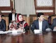 لاہور: صوبائی وزیر خوراک بلال یاسین کابینہ کمیٹی برائے پرائس کنٹرول ..