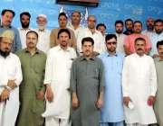 مظفر آباد: تیمرگرہ سوات پریس کلب کے صحافیوں کا مظفر آباد دورہ کے موقع ..
