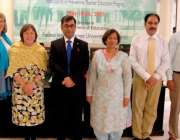 راولپنڈی: فاطمہ جناح یونیورسٹی میں منعقدہ ورکشاپ کے بعد مہمان خصوصی ..