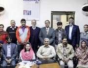 لاہور: خصوصی افراد کے عالمی دن کے حو الے سے منعقدہ تقریب میں ایم ڈی پیف ..