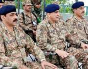 مظفر آباد: آرمی چیف جنرل قمر جاوید باجوہ کو نکیال سیکٹر کے دورہ کے موقع ..
