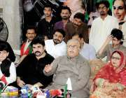 حیدر آباد: پیپلز پارٹی کے مرکزی سیکرٹری اطلاعات مولا بخش چانڈیو قام ..