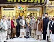 پشاور: کینٹ تاجروں کے صدر مجیب الرحمان کا گولڈ سنٹر الیکشن برائے 2017ٹیپو ..