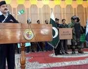 اسلام آباد: ایس پی سٹی شیخ زبیر احمد طلباء کو پولیس پبلک ریلیشنز اور ..