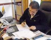 میرپور: وزیر اعظم آزاد کشمیر راجہ فاروق حیدر خان ایک عوامی پٹیشن پر ..