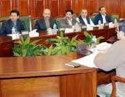 پشاور: گورنر خیبر پختونخوا انجینئر ظفر اقبال جھگڑا ٹی ڈی پیز کی واپسی ..