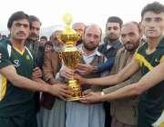باجوڑ ایجنسی: ایجنسی سپورٹس مینجر فضل اکبر خلجی سلارزئی فٹبال ٹورنا ..