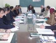 قصور: ڈی سی او عمارہ خان بورڈ آف گوورنرز ڈی پی ایس کے اجلاس کی صدارت ..