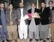 اسلام آباد: آل پاکستان تاجر اتحاد کے صدر کاشف چوہدری رئیل اسٹیٹ ایسوسی ..