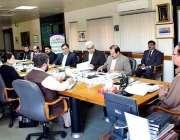 اسلام آباد: چیئرمین نیب قمر زمان چوہدری اعلیٰ سطحی اجلاس کی صدارت کر ..