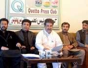 کوئٹہ: مسلم لیگ (ن ) پنجگور کے ضلعی صدر آغا شاہ حسین ، اشرف ساگر بلوچ ..