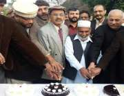 اسلام آباد: پمز ہسپتال میں تنویر نوشاہی، چوہدری طاہر ورک اور دیگر عہدیداران ..