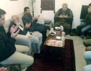 لندن: خان آف قلات میر سلمان داؤد خان مسلم لیگ ن کے رکن اسمبلی میر عاصم ..