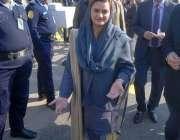 اسلام آباد: وزیر مملکت اطلاعات و نشریات مریم اورنگزیب پانامہ لیکس کیس ..
