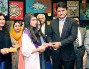 لاہور: صوبائی وزیر ہائیر ایجوکیشن سید رضا گیلانی کوئین میری کالج میں ..