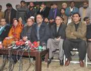 لاہور: پیپلز پارٹی وسطی پنجاب کے صدر قمر زمان قائرہ مرکزی سیکرٹریٹ ..