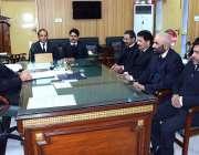 سیالکوٹ: نئے تعینات ہونیوالے سیشن جج محمد قیوم خان ایڈیشنل سیشن ججز ..