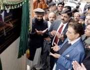 مظفر آباد: وزیر اعظم آزاد کشمیر راجہ فاروق حیدر خان تعمیر نو پروگرام ..