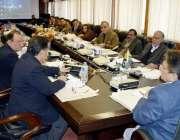 مظفر آباد: وزیر اعظم آزاد کشمیر راجہ فاروق حیدر خان کابینہ کے اجلاس ..