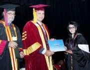 لاہور: صوبائی وزیر ہائر ایجوکیشن سید رضا علی گیلانی گورنمنٹ کالج یونیورسٹی ..