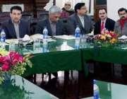 لاہور: صوبائی وزیر بلدیات محمد منشاء اللہ بٹ میں لائبریرز اتھارٹی بنانے ..