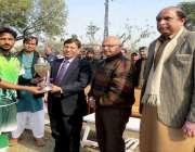 لاہور: مہمان خصوصی ڈائریکٹر جنرل ویجیلینس ریلوے کیپٹن آصف علی ملتان ..
