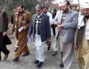 لکی مروت: ایڈیشنل ڈی جی ہیلتھ سروسز ڈاکٹر علی احمد مانیٹرنگ ٹیم کے ہمراہ ..