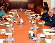 اسلام آباد: وزیر اعظم کے معاون خصوصی سید طارق فاطمی سے نائجیرین میڈیا ..