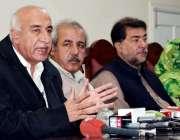 کوئٹہ: سابق وزیر اعلیٰ بلوچستان ڈاکٹر مالک بلوچ پریس کانفرنس سے خطاب ..