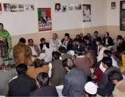 کوئٹہ: نیشنل پارٹی پشتون ریجن شمولیتی پروگرام سے ایم پی اے یاسمین لہری ..