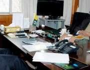 مظفر آباد: قائمقام وزیر اعظم آزاد کشمیر چوہدری طارق سے وزیر برقیات ..