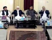 لاہور: جماعت اسلامی کے سیکرٹری جنرل لیاقت بلوچ سے بلوچستان کا اعلیٰ ..