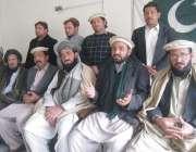 بنوں: شمالی وزیرستان سیاسی اتحاد کے قائمقام چیئرمین سید ایوب خان عہدیداروں ..