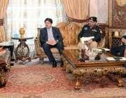 لاہور: وزیر اعلیٰ پنجاب محمد شہباز شریف صوبے میں سی پیک کے منصوبوں کی ..